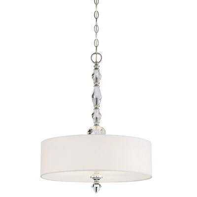 Evi 3-Light Drum Pendant
