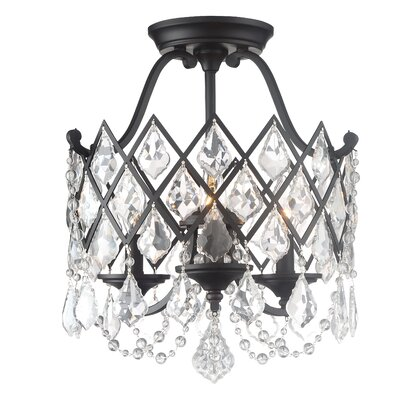 Ravina 3-Light Semi Flush Mount