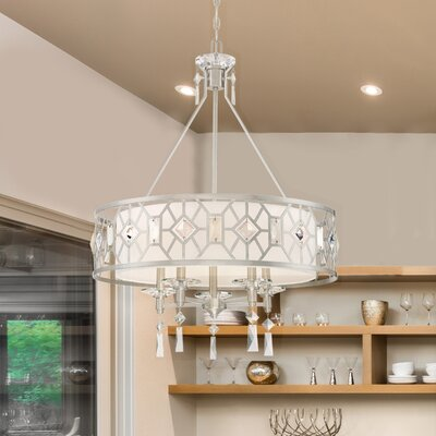 Brentwood 5-Light Drum Chandelier