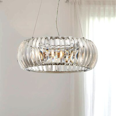 Allure 3-Light Drum Pendant