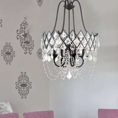 Ravina 4-Light Crystal Chandelier
