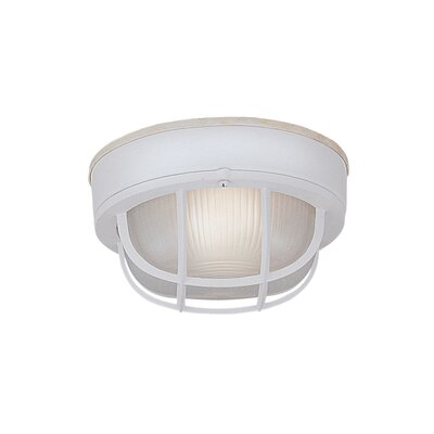 Bulkhead 1-Light Flush Mount
