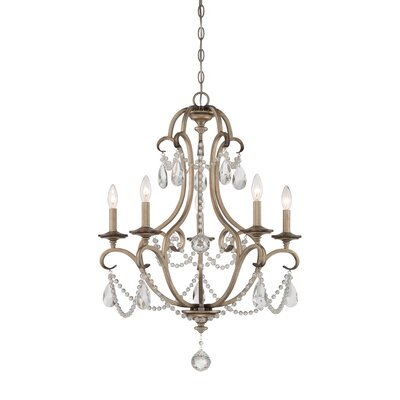Gala 5-Light Crystal Chandelier