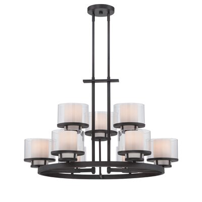 Fusion 9-Light Candle-Style Chandelier