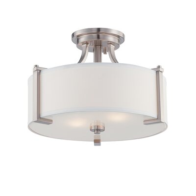 Axel 2-Light Semi Flush Mount