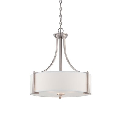 Bergen 3-Light Drum Pendant