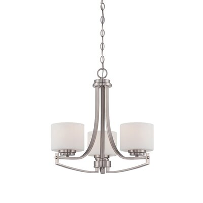 Bergen 3-Light Chain Drum Pendant