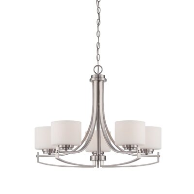 Bergen 5-Light Shaded Chandelier