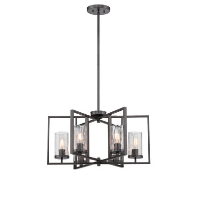Kuhle 6-Light Foyer Pendant Size: 53 H x 32 W x 32 D
