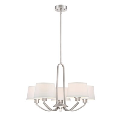 Studio 5-Light Shaded Chandelier