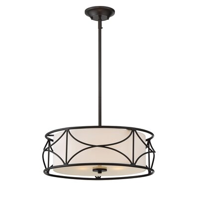 Avara 3-Light Drum Pendant