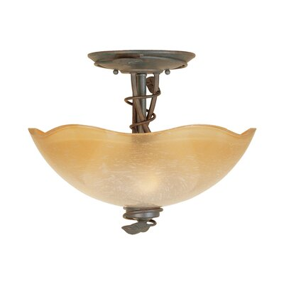 Timberline Semi Flush Mount