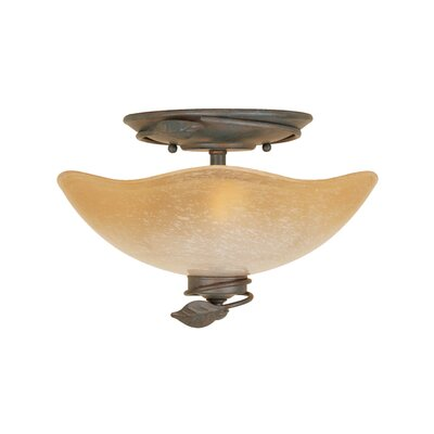 Timberline 2-Light Semi Flush Mount