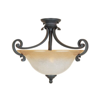 Barcelona Semi Flush Mount