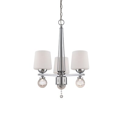 Astoria 3-Light Shaded Chandelier