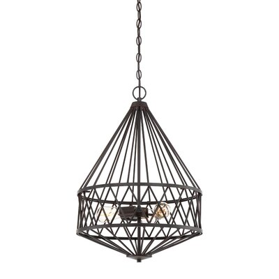 Clemence 3-Light Foyer Pendant