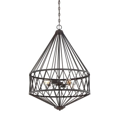 Clemence 4-Light Foyer Pendant