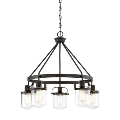 Burroway 5-Light Candle-Style Chandelier