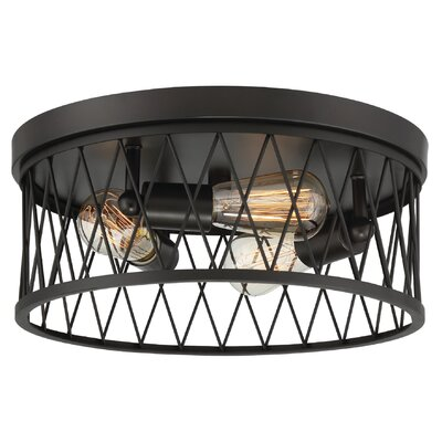 Clemence 3-Light Flush Mount