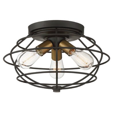 Davina 3-Light Flush Mount
