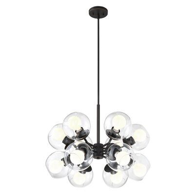 Simas 12-Light Sputnik Chandelier