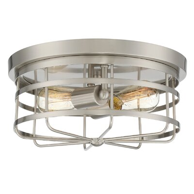 Hadassah 2-Light Flush Mount