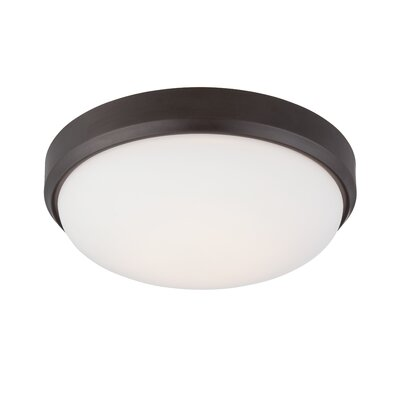 Modern LED Flush Mount Fixture Finish: Oil Rubbed Bronze
