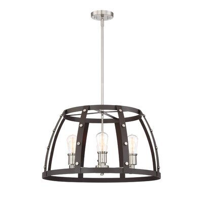 Newell 3-Light Foyer Pendant