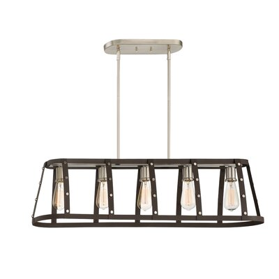 Newell 5-Light Kitchen Island Pendant