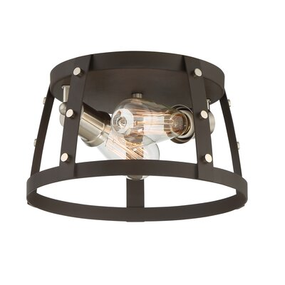 Newell 2-Light Flush Mount