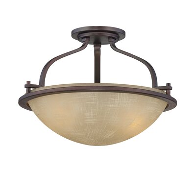 Castello 2-Light Semi-Flush Mount