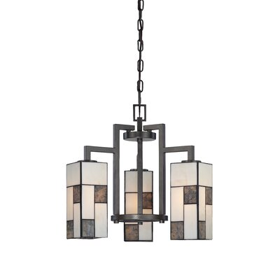 Bradley 3-Light Shaded Chandelier