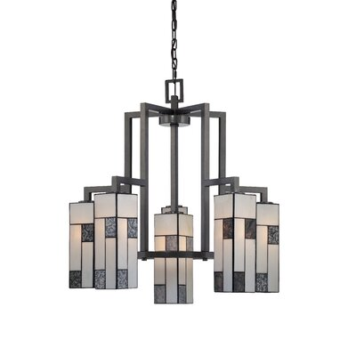 Bradley 6-Light Shaded Chandelier