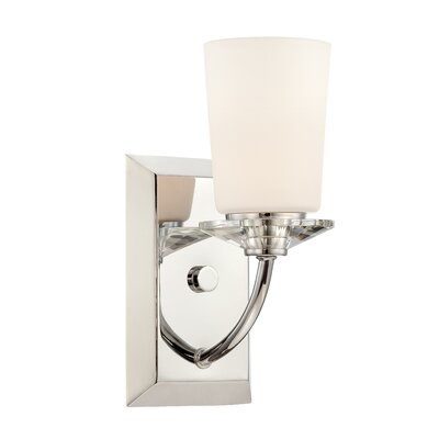 Palatial 1-Light Bath Sconce