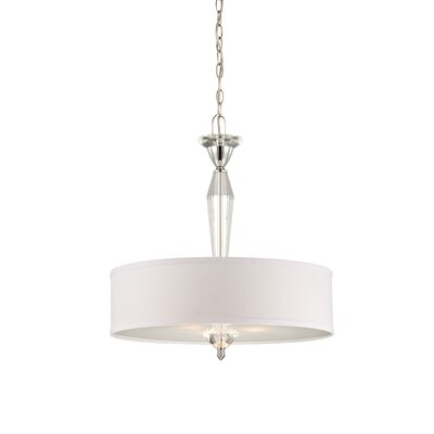 Aubre 1-Light Drum Pendant