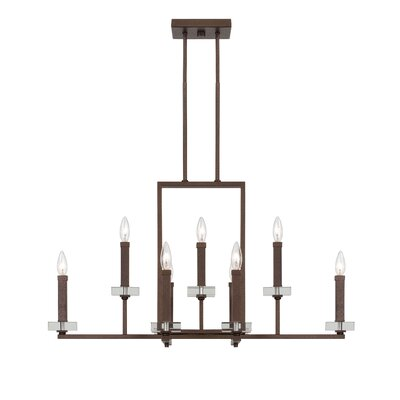 Fieldhouse 9-Light Candle-Style Chandelier