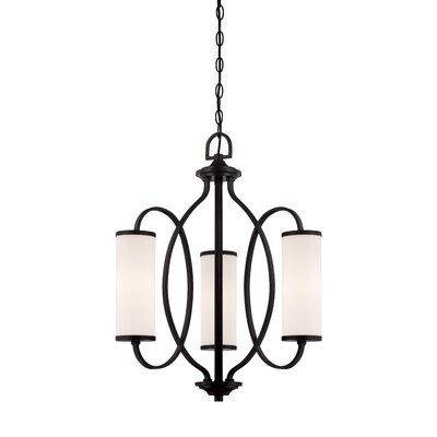 Bellemeade 3-Light Shaded Chandelier