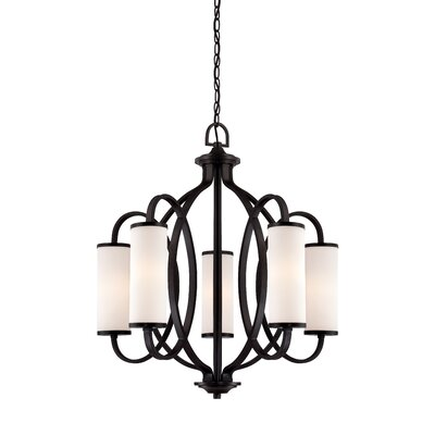 Bellemeade 5-Light Shaded Chandelier