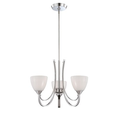 Cortona 3-Light Shaded Chandelier