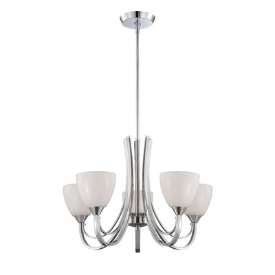 Cortona 5-Light Shaded Chandelier