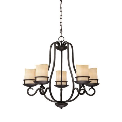 Lauderhill 5-Light Candle-Style Chandelier