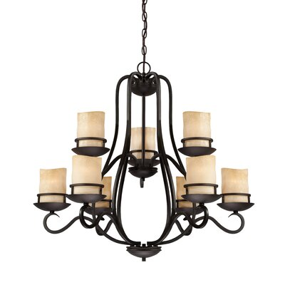 Lauderhill 9-Light Candle-Style Chandelier