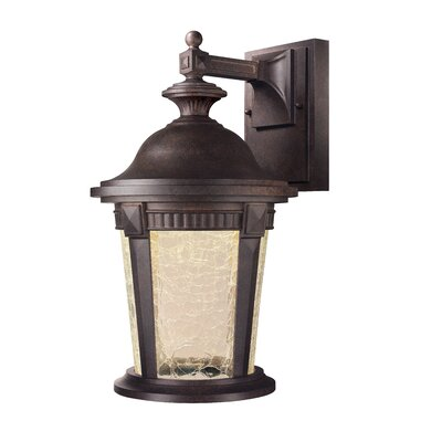Whitmore 1-Light Outdoor Wall Lantern Size: 15.75 x 9 x 10.5