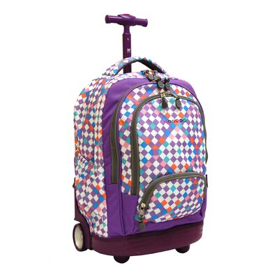 J World Sunbeam Laptop Rolling Backpack at Sears.com