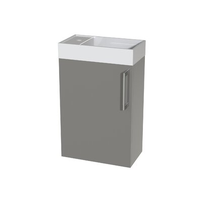 Schnieders 16 Single Bathroom Vanity Set Base Finish: Taupe