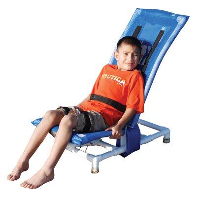 MJM International Reclining Bath Chair - Size: Medium, Color: Royal Blue