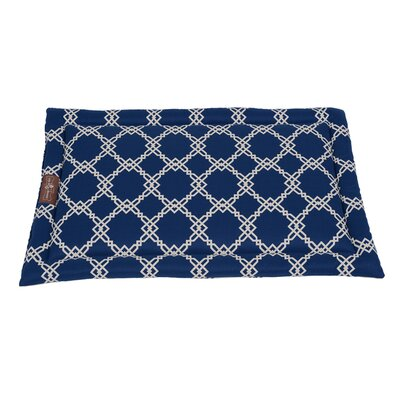 Kratos Premium Cotton Blend Cozy Mat Size: Small - 18 L x 24 W, Color: Aegean