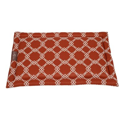 Kratos Premium Cotton Blend Cozy Mat Color: Spice, Size: Large - 23 L x 36 W
