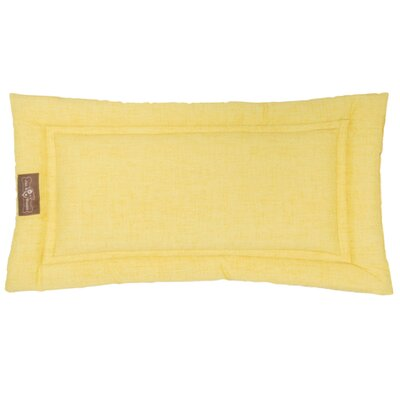 Indoor/Outdoor Cozy Mat Size: Small (24 L x 18 W), Color: Lemon