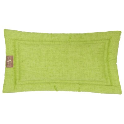 Indoor/Outdoor Cozy Mat Color: Lime, Size: Small (24 L x 18 W)